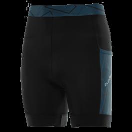 Pantaloni alergare FUNKIER Paduli-2 - Negru/Albastru L