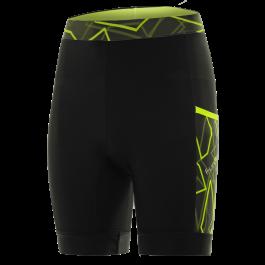 Pantaloni alergare FUNKIER Paduli-2 - Negru/Galben S