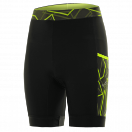Pantaloni alergare FUNKIER Paduli-2 - Negru/Galben 3XL