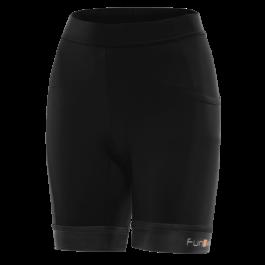 Pantaloni scurti alergare FUNKIER Marsala - Negru L