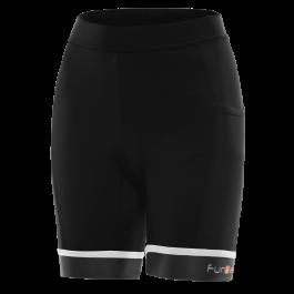 Pantaloni scurti alergare FUNKIER Marsala - Negru/Alb XS