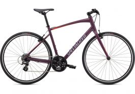 Bicicleta SPECIALIZED Sirrus 1.0 - Gloss Cast Lilac/Vivid Coral/Satin Black Reflective S