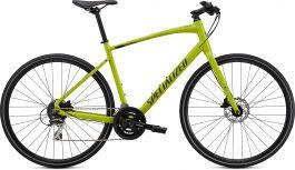 Bicicleta SPECIALIZED Sirrus 2.0 - Gloss Hyper Green/Black/Satin Black Reflective XXS
