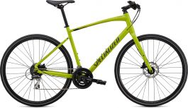 Bicicleta SPECIALIZED Sirrus 2.0 - Gloss Hyper Green/Black/Satin Black Reflective XL