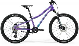 Bicicleta Copii MERIDA Matts J.24 UNI (11'') Violet Inchis|Roz|Teal 2021