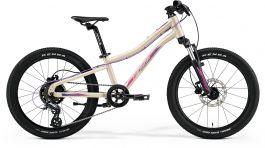 Bicicleta Copii MERIDA Matts J.20+ UNI (10'') Galben-Nisip Deschis|Violet 2021