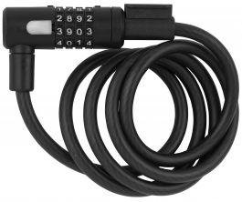 Incuietoare cablu AXA Newton 150/10 cu cifru - Antracit