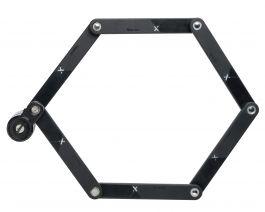 Incuietoare pliabila AXA Newton FLK 90, 90 cm negru