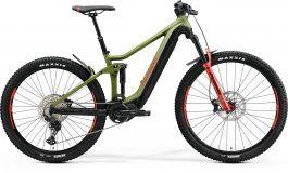 Bicicleta MERIDA eOne-Forty 500 L (43'') Verde Mat|Negru|Rosu 2021
