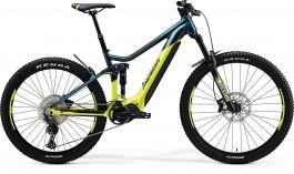 Bicicleta MERIDA eOne-Sixty 500 L (45'') Teal|Albastru|Lime 2021