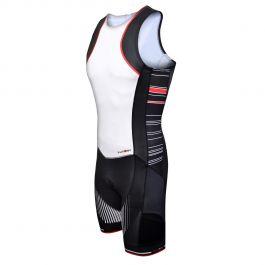 Costum triathlon FUNKIER Licata Men Pro - Alb/Negru XL