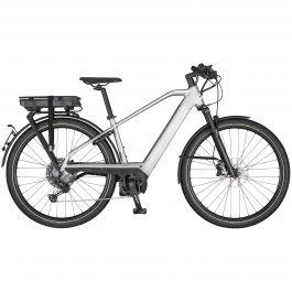 Bicicleta SCOTT Silence ERide 10 Men L Gri | Negru