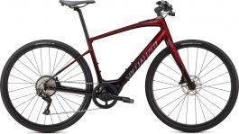 Bicicleta SPECIALIZED Turbo Vado SL 4.0 - Crimson Red Tint / Black Reflective L