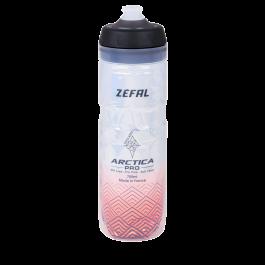 Bidon ZEFAL Arctica Pro 75 - Silver/Red