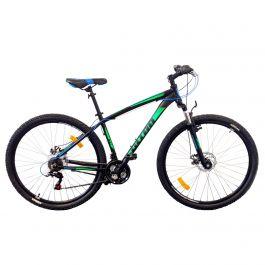 Bicicleta ULTRA Nitro 29 - Negru/Albastru/Verde 480mm