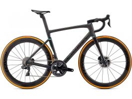 Bicicleta SPECIALIZED S-Works Tarmac SL7 - Dura Ace Di2 - Carbon/Color Run Silver Green 54