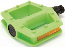 Pedale CONTEC Happy Kid 300g - pe bile Verde