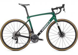 Bicicleta SPECIALIZED S-Works Roubaix - SRAM Red eTap AXS - Gloss Green Tint 54