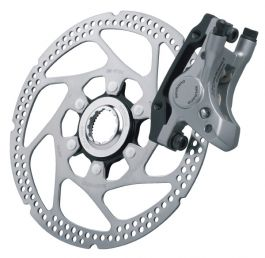 Etrier Frana Disc Fata SHIMANO Deore LX BR-M585 Hidraulic Post Mount Incl Rotor SM-RT62 Fixing Bolt 24.5mm