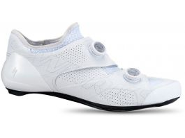 Pantofi ciclism SPECIALIZED S-Works Ares Road - White 40