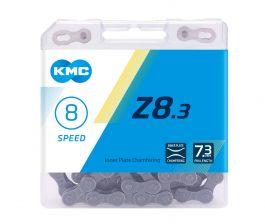 Lant KMC Z8.3 116 zale 8 viteze argintiu-gri