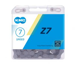 Lant KMC Z7 116 zale 7 viteze argintiu-maro