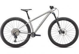 Bicicleta SPECIALIZED Fuse Expert 29 - Satin Brushed Alloy/Redwood M