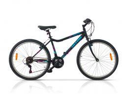 Bicicleta ULTRA Gravita 26'' negru 460mm