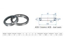 """Rulment cuvete FSA IS-2-138 ACB 1""""3/8 36x45 dualS MR031"""