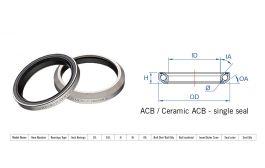 "Rulment cuvete FSA Super Light ACB 36x45 1.5"" MR110R"