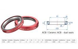 "Rulment cuvete FSA Super Light TH-070E ACB 45x45 1.5"" MR128R"