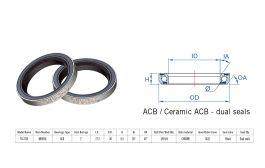 "Rulment cuvete FSA TH-373 ACB 1"" 36x45 dualS MR055E"
