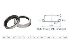 "Rulment cuvete FSA TH-870E ACB 45x45 1""1/8 singleS MR121"