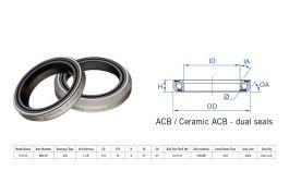 "Rulment cuvete FSA TH-871 ACB 36x36 1""1/8 dualS MR033E"