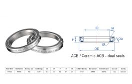 "Rulment cuvete FSA TH-872S ACB 36x36 1""1/8 dualS MR049S"