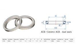 "Rulment cuvete FSA TH-970S ACB 45x45 1""1/4 dualS MR082S"