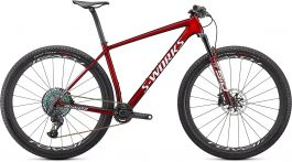 Bicicleta SPECIALIZED S-Works Epic Hardtail - Gloss Red Tint w/ Gold M