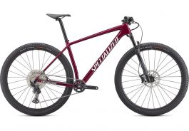 Bicicleta SPECIALIZED Epic Hardtail - Gloss Rasberry/Metallic White Silver XL