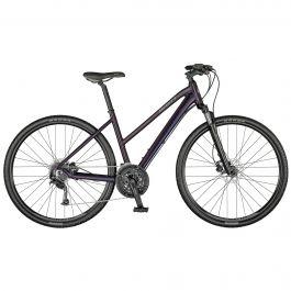Bicicleta SCOTT Sub Cross 30 Lady Violet Black/Granit Green M 2021