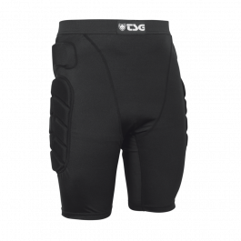 Pantaloni cu protectii TSG Crash Pant All Terrain - Black L
