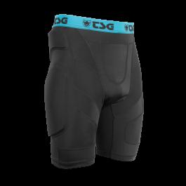 Pantaloni cu protectii TSG Crash Pant A - Black M