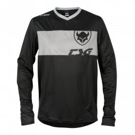 Tricou TSG Waft L/S - Black Grey XS