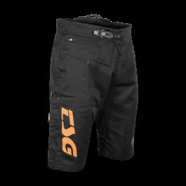 Pantaloni scurti TSG Worx - Black Orange XL