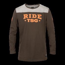 Tricou TSG Ride TSG L/S - Peat M