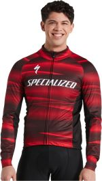 Jacheta softshell SPECIALIZED Men's Factory Racing RBX Comb - Black/Red M