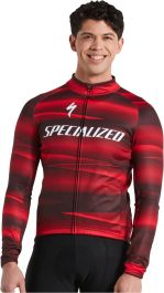 Tricou softshell SPECIALIZED Men's Factory Racing Team SL Expert - Black/Red XL