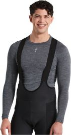 Bluza SPECIALIZED Men's Merino Seamless LS Base Layer - Grey L/XL