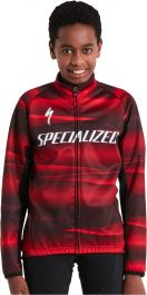 Jacheta softshell SPECIALIZED Youth Team RBX Comp - Black/Red S