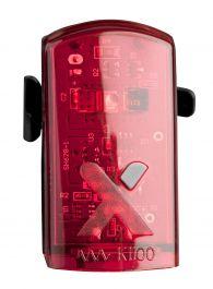 Stop AXA Greenline USB 1 led - Rosu