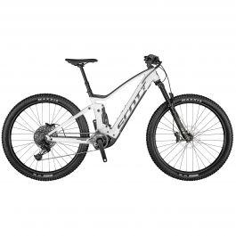 Bicicleta SCOTT Strike eRIDE 940 S Alb Negru